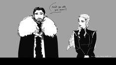 Jon Snow (Aegon Targaryen) and Daenerys. Game Of Thrones Comic, Game Of Thrones 1, Game Of Thrones Prequel, Valar Morghulis, Valar Dohaeris, Jon Snow And Daenerys, I Love Games, Character Sketches, Mother Of Dragons