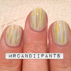 easy simple pastel lines on beige base Instagram photo by mrcandiipants