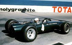 f1 1967, XXV Grand Prix Automobile de Monaco. Monaco. Jackie Stewart in the BRM P261.