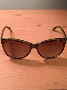 b74470c6d11 COACH Womens L051 Samantha Polarized Tortoise Design w  Green Frame  Sunglasses  fashion  clothing