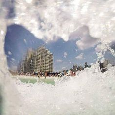 Splash in the waves as you cool off during your day at the beach! A Sandestin Vacation awaits!