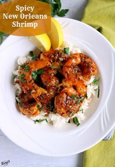 Spicy New Orleans Shrimp - Karyl's Kulinary Krusade