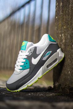 Nike Air Max 90 GS 'Turbo Green & Venom Green'