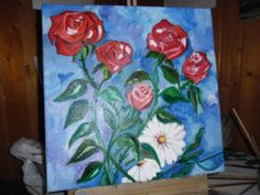tela flores