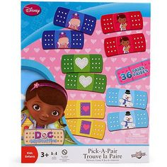 Doc McStuffins Pick-a-Pair Memory Game