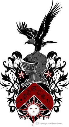 Family Shield Crest Designs | OneBlueBird: Bands and Family Crests