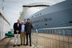 Our Joint MD's and Head of Marine are on the scene at Harmony of the Seas