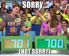 Dylan Pearson on The Price Is Right...  #Season42 #Contestant #meme