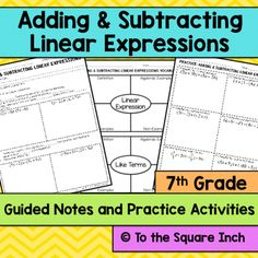Lesson 6 Homework Practice Add Linear Expressions Answers To 4 - image 10