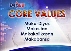 Department of Education Manila: Vision, Mission and Core Values Classroom Welcome, Classroom Rules Poster, Teacher Classroom Decorations, Classroom Charts, Classroom Quotes, Classroom Signs, Teacher Quotes, Elementary Bulletin Boards, Teacher Bulletin Boards