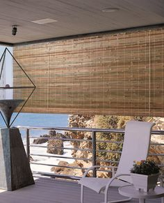 RollUp Solar Shades Solar shades Porch and Patios