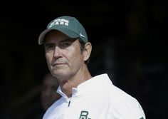 FILE - In this Dec. 5, 2015, file photo, Baylor coach Art Briles stands in the tunnel before the team's NCAA college football game against Texas in Waco, Texas. A new court filing detailed allegations that former Baylor coach Briles ignored sexual assaults by players, failed to alert university officials or discipline athletes and allowed them to continue playing. (AP Photo/LM Otero, File)