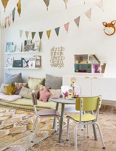 Colourful kids playroom inspiration