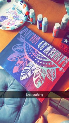 Crafts to match your clothes!  http://www.somethinggreek.com/collections/sorority-white-collection/products/sorority-dreamcatcher-design-2