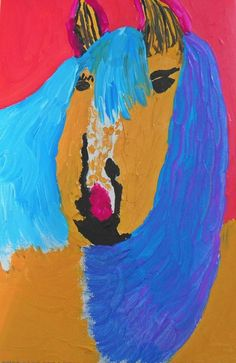 Image of Unconventional horse original painting unframed sale now on everything must go! Information Board, Everything Must Go, Original Paintings, Horses, The Originals, Image, Art, Art Background, Info Board