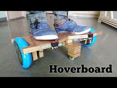How to Make a Hoverboard at Home - YouTube