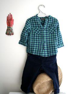 ENSEMBLE CHEMISE et PANTALON BOUT'CHOU 6 mois via DRESSING TOUT PLEIN. Click on the image to see more!