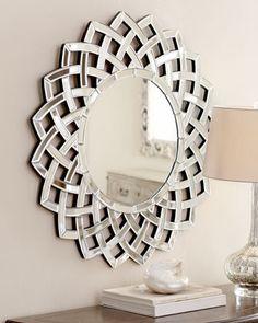 """Woven Sunburst"" Mirror at Horchow."