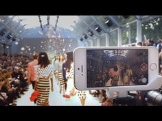 Apple Posts New 'On The Runway' Video Showcasing Burberry Fashion Show Shot on iPhone 5s