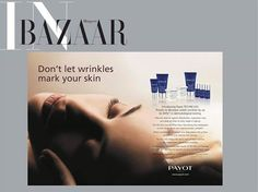 Hot off the Press Payot TECHNI LISS as featured in this month's edition of Harper's BAZAAR Australia! Shop Payot - http://facialco.com.au/payot