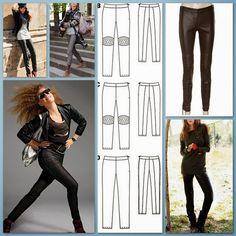 Pantalones de línea clásica, patrones para descargar | EL BAÚL DE LAS COSTURERAS