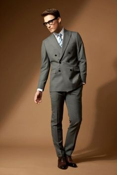 Business Suit I like but I wouldnt wear it. Tudor Tailor, Tailored Suits, Gentleman, Suit Jacket, Spring Summer, Costume, How To Wear, Jackets, Marketing
