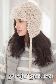 Ravelry: Amelia Earflap Hat pattern by Lion Brand Yarn - free knitting pattern - Loom Knitting Patterns, Free Knitting, Knitting Projects, Crochet Patterns, Knit Or Crochet, Crochet Hats, Crochet Hat Earflap, Crochet Style, Loom Hats