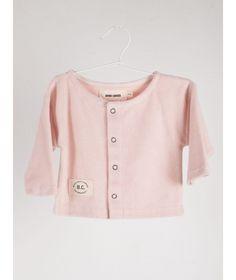 Bobo Choses Jacket Snaps Shy powder pink