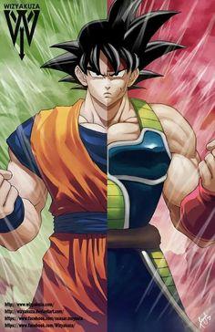 Goku and Bardock - Visit now for 3D Dragon Ball Z shirts now on sale!