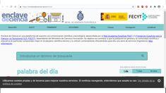 Enclave de ciencia Real Academia Española, Science, Tecnologia