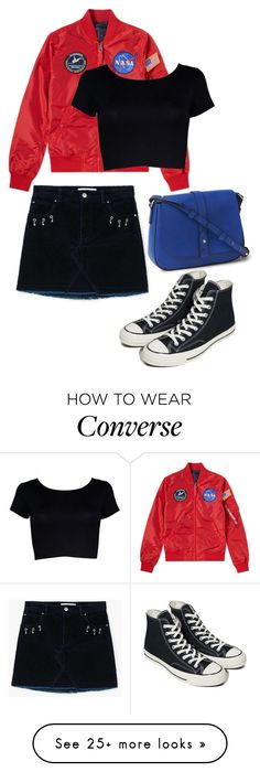 """Senza titolo #68"" by styledbydaxy on Polyvore featuring MANGO and Converse"