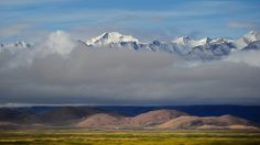 The mighty Tibet Himalayan Mountain Range