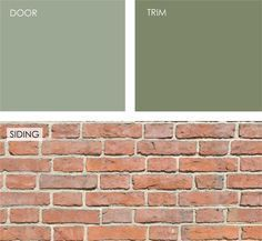 exterior colors for chicago brick house