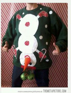 ONE Tacky Christmas Sweater | TWO Rudolf Mask | THREE Candy Cane ...