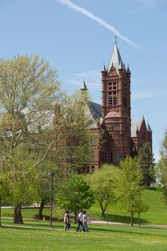 Spring at Syracuse University