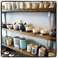 Victoria Hutchinson Ceramics display.