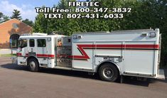 American LaFrance Eagle with 1500 gpm pump and 500 gallon poly tank. Call Firetec @ or text for more information. Fire Trucks For Sale, Poly Tanks, Used Engines, Fire Apparatus, Evening Sandals, Emergency Vehicles, Fire Engine, Fire Department, Pumping