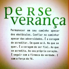 perseverança - Google Search