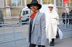 Street Style: Paris Fashion Week Fall 2014 - Photographed by Phil Oh