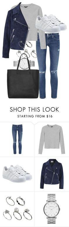 """""""field trip"""" by tyra482 ❤ liked on Polyvore featuring Citizens of Humanity, Monki, adidas Originals, Acne Studios, ASOS, Marc by Marc Jacobs and Madewell"""