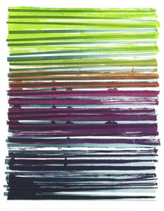 Line Series Monoprints – Dana McClure #inspiration