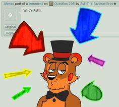 Question 206 by Ask-The-Fazbear-Bros.deviantart.com on @DeviantArt