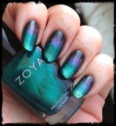 Mermaid nails
