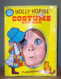 Vintage Holly Hobbie Halloween Costume