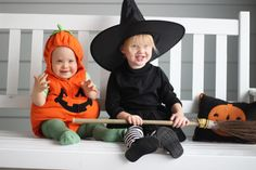 Who doesn't love to dress their kids up and post a million pictures? It's a mom thing.. Scarlett loves witches and insisted on being one for the second year in a row. Between the multiple Halloween festivities, I thought I could squeeze in another costume, and since I already had her Snow