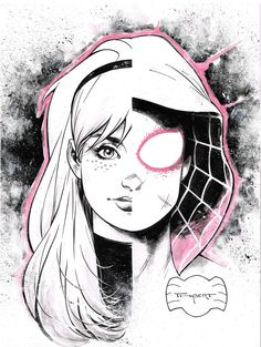 Gwen Stacy/Spider Gwen - Art Thibert