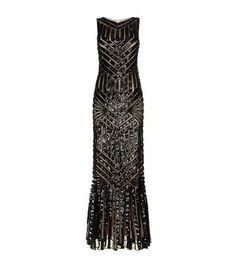 ss17 Jovani Aztec Embellished Column Gown available to buy at Harrods.com. Shop women's designer fashion online and earn Rewards points.