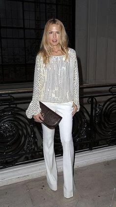 Rachel Zoe - This is how to wear white in the fall/winter.