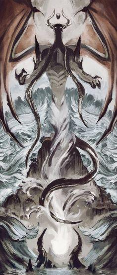 The Eldest Reborn - Dominaria MtG Art