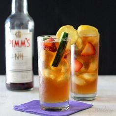 Pimm's Cup: a refreshing cocktail perfect for warmer weather